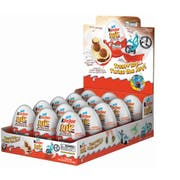 Kinder Joy T1 x 15 x 4 Sweet Cream Topped with Cocoa Wafer Bites, 0.7 Ounce -- 60 per case.