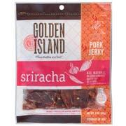 Golden Island Sriracha Pork Jerky, 3 Ounce -- 8 per case