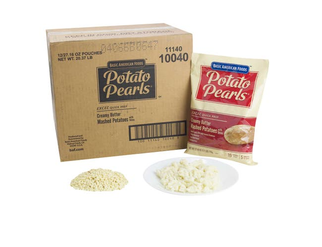 Potato Excel Creamy Butter With Skins, 28.2 Ounce -- 12 Case