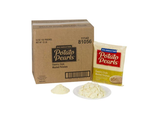 Country Style Potato Pearls, 30.7 Ounce -- 12 Case