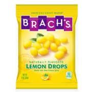 Brachs Lemon Drops Candy, 9 Ounce -- 12 per case.