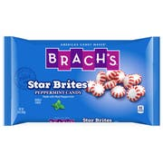 Brachs Star Brites Peppermint Candy, 16 Ounce -- 12 per case.