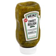 Heinz Sweet Relish, 12.7 Fluid Ounce -- 12 per case.