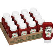 Heinz Ketchup Clear Condiment, 14 Ounce -- 16 per case.