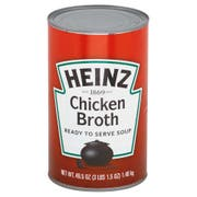 Heinz Ready to Serve Chicken Broth Soup - 49.5 oz. can, 12 per case