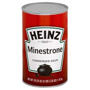 Heinz Condensed Minestrone Soup - 51.25 oz. can, 12 per case