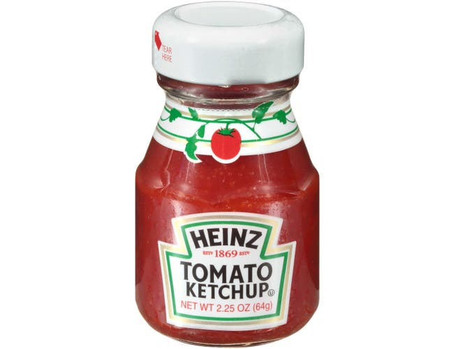 Heinz Mini  Ketchup Roomservice, 2.25 ounce -- 60 per case