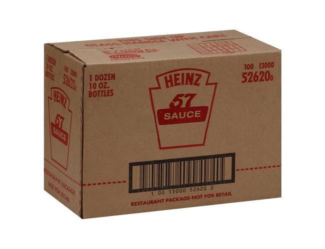 Heinz 57 Sauce 12 Case 10 Ounce