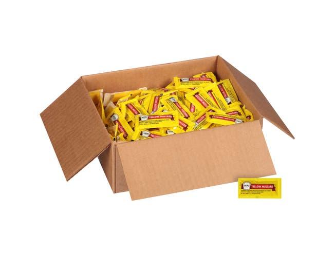 Mustard Packets 200 Case 1/5 Ounce
