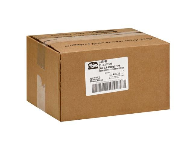 Heinz Single Serve Assorted Jelly, 0.5 Ounce -- 200 per case