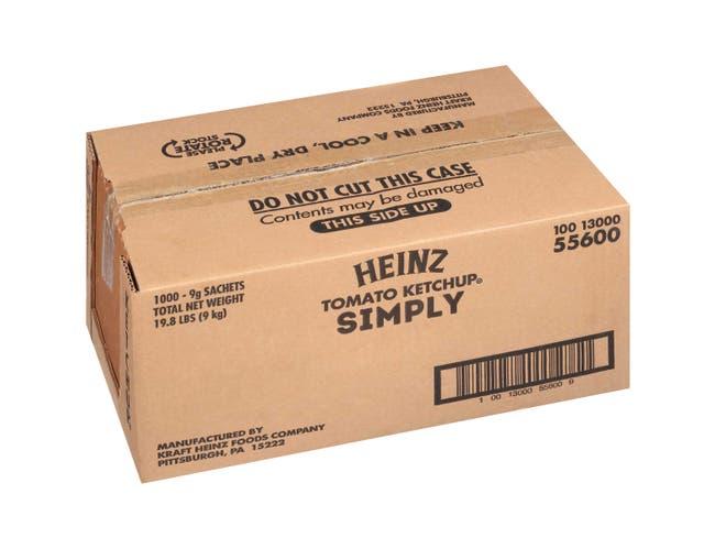 Simply Heinz Ketchup, 9 Gram -- 1000 per case.