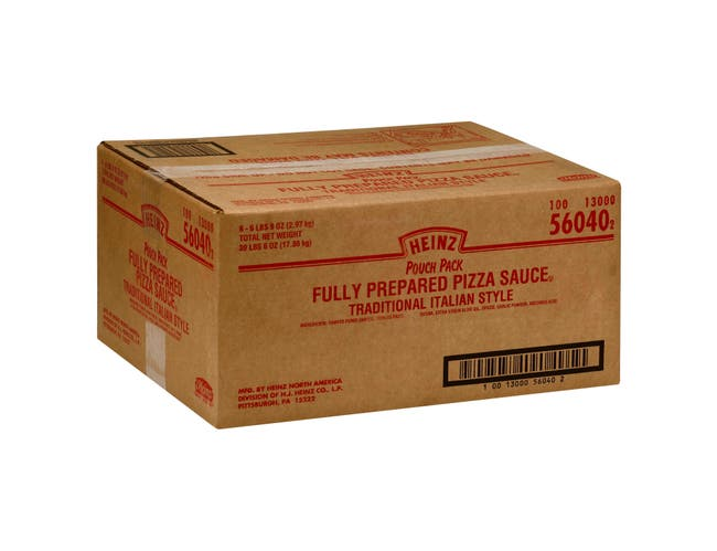 Heinz Prepared Pizza Sauce, 105 Ounce -- 6 per case.