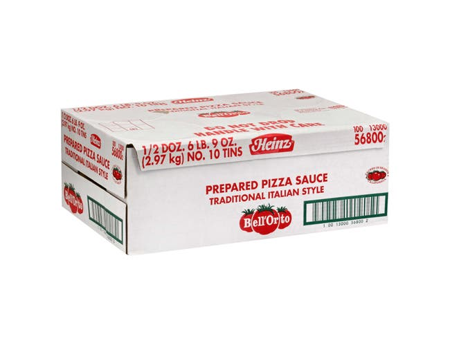Bell'Orto Fully Prepared Pizza Sauce,105 Ounce -- 6 per case