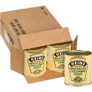 Heinz Bread and Butter Cucumber Chips Number 10 Can, 99 fluid ounce -- 6 per case