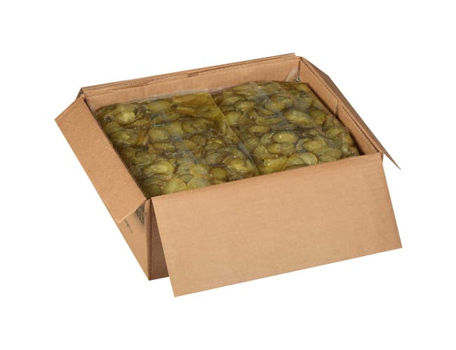 Heinz Crinkle Chip Dill Pickle Pouch, 5.75 pound -- 6 per case