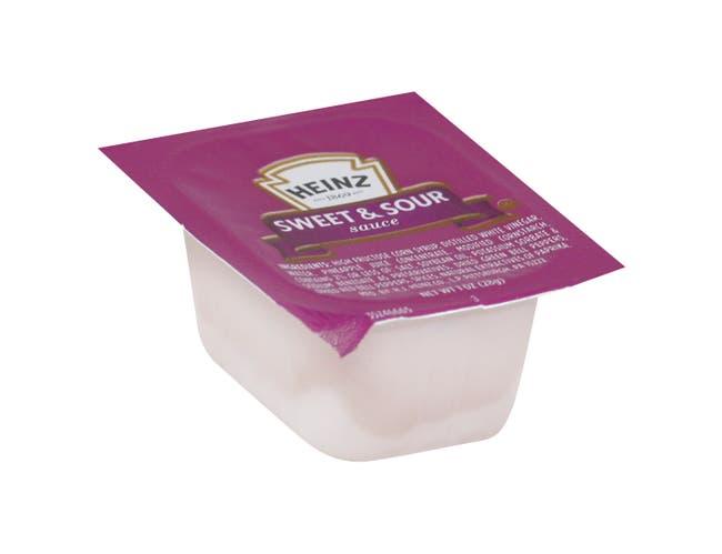 Heinz Sweet N Sour Sauce, 1 Ounce -- 100 per case.