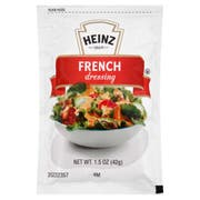 Heinz Single Serve French Salad Dressing, 1.5 Ounce -- 60 per case