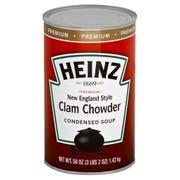 Heinz Great American New England Clam Chowder - 50 oz. can, 12 per case