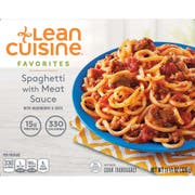 Nestle Stouffers Lean Cuisine Entree Spaghetti, 11.5 Ounce -- 12 per case.