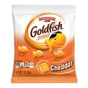 Pepperidge Farms Chddar Goldfish - 1 oz. single serve bag, 60 per case