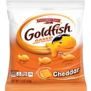 Pepperidge Farm Cheddar Goldfish - 1.5 oz. single serve bag, 72 per case