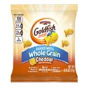 Pepperidge Farm Whole Grain Cheddar Goldfish - 0.75 oz. bag, 300 per case
