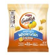 Pepperidge Farm 100 Calorie Whole Grain Cheddar Goldfish - 0.75 oz. bag, 100 per case