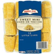 Birds Eye Extra Sweet Mini Corn On The Cob, 12 count per pack -- 8 per case