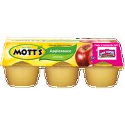 Apple Sauce, Original, 6/4 Ounce --  24 Case