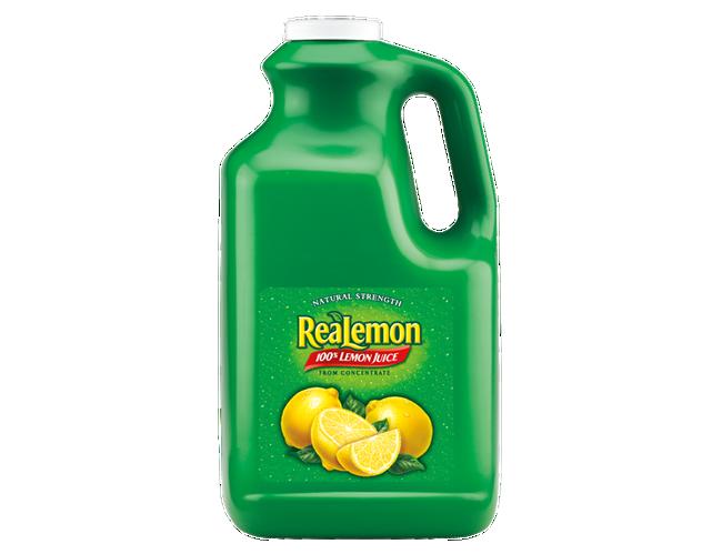 Realemon Juice 4 Case 1 Gallon