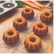 New Day Carrot Mini Bundt Cake, 3 Ounce -- 24 per case