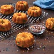 New Day Confetti Mini Bundt Cake, 3 Ounce -- 24 per case