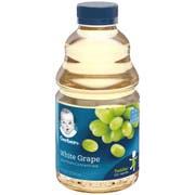 Gerber White Grape Juice, 32 Fluid Ounce -- 6 per case.