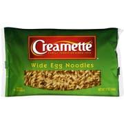 Creamette Wide Egg Noodles, 12 Ounce -- 12 per case.