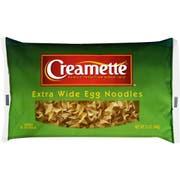 Creamette Extra Wide Egg Noodles, 12 Ounce -- 12 per case.