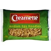 Creamette Medium Egg Noodles, 12 Ounce -- 12 per case.