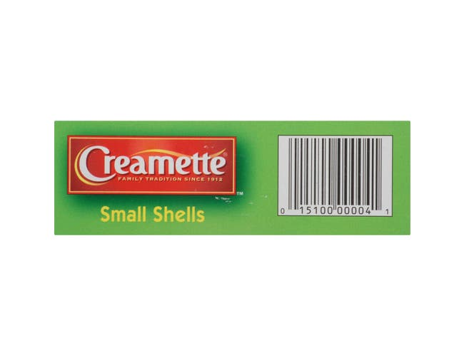 Creamette Small Shells, 7 Ounce -- 12 per case.