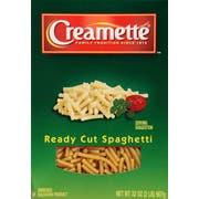 Creamette Ready Cut Spaghetti Pasta, 32 Ounce -- 12 per case.