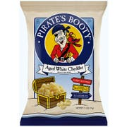 Pirates Booty Aged White Cheddar Rice and Corn Puffs, 0.5 Ounce -- 36 per case