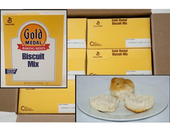 General Mills Value Biscuit Mix 6 Case 5 Pound