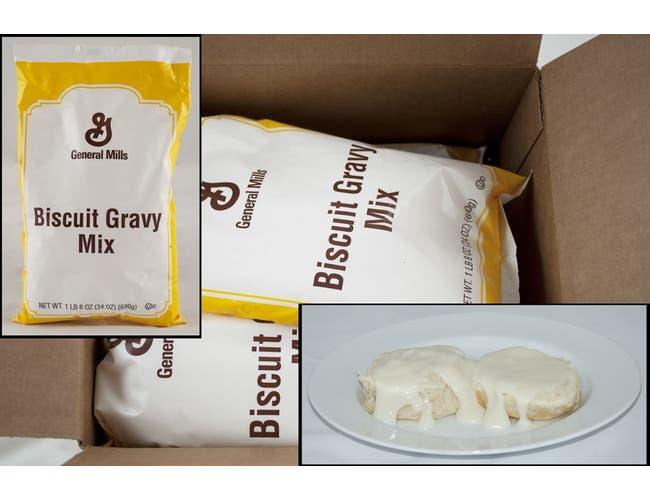 General Mills Value Biscuit Gravy Mix 6 Case 1.5 Pound