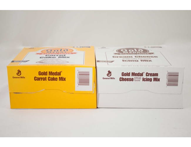 Gold Medal Carrot Cake Cream Cheese Icing 4 Case 5 Pound