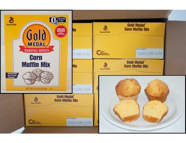Gold Medal Corn Muffin Mix, 5 Pound -- 6 per case