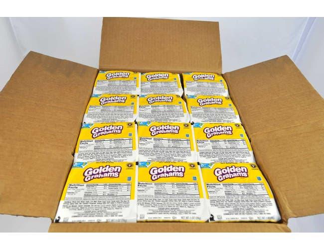 General Mills Golden Graham - Honey Cereal, Bowl Pak, 1 Ounce -- 96 per case.
