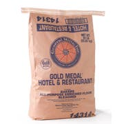 Gold Medal All Purpose Bleached Enriched Malted Hotel and Restaurant Flour, 50 Pound -- 1 each.