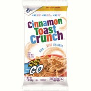 Cinnamon Toast Crunch Reduced Sugar Pouch On The Go Cereal, 1 Ounce -- 96 per case.
