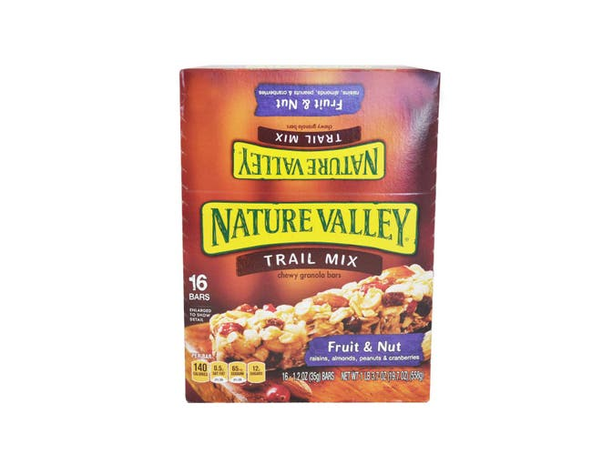 Nature Valley Fruit and Nut Chewy Trail Mix Bar - 1.2 oz. bar, 128 per case