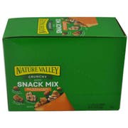 Nature Valley Oats N Peanut Butter Crunchy Snack Mix, 10.8 Ounce -- 6 per case