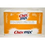 Chex Cheddar Snack Mix, 15 Ounce -- 8 per case.
