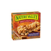 Nature Valley Sweet and Salty Roasted Mixed Nut Granola Bar, 7.4 Ounce -- 12 per case.